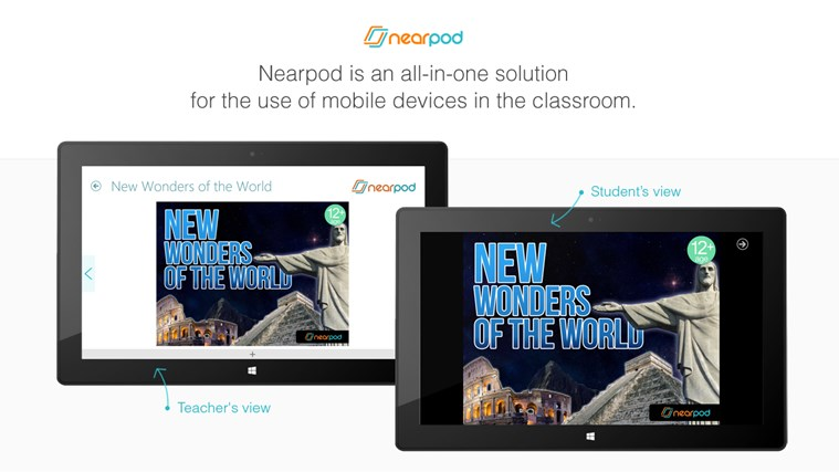 Nearpod screen shot 0