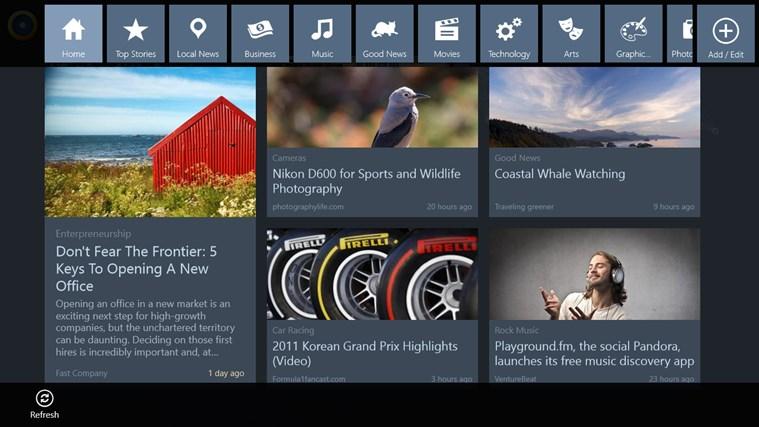 News360 screen shot 4