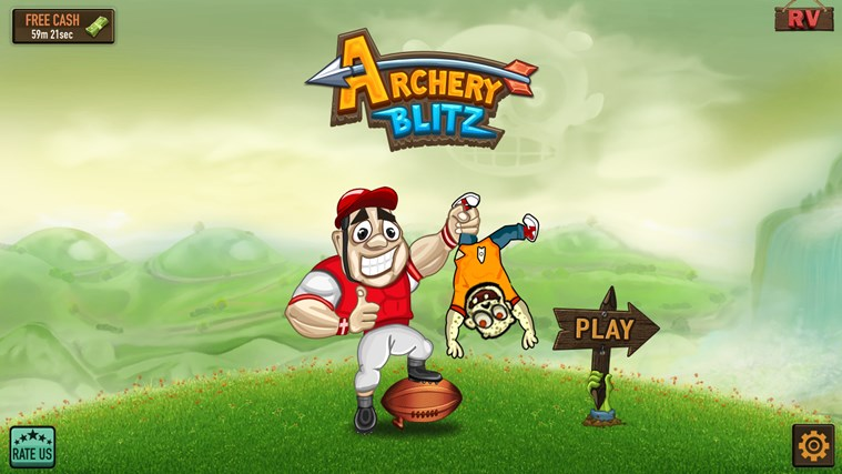 Archery Blitz screen shot 4