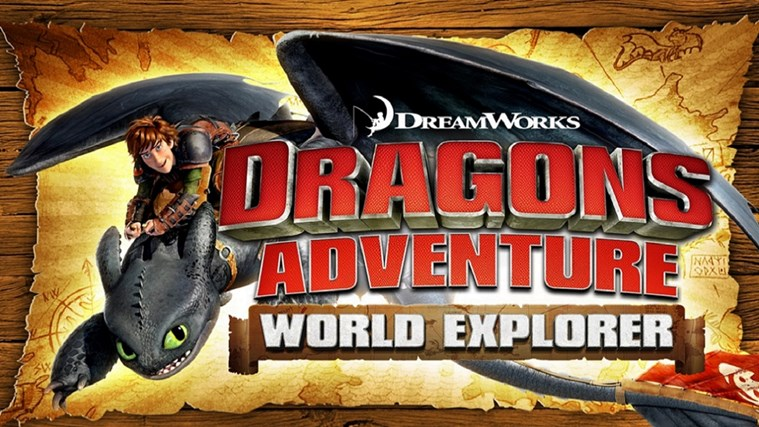 DreamWorks Dragons Adventure screen shot 0