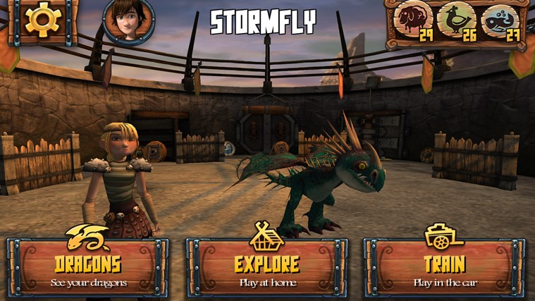 DreamWorks Dragons Adventure screen shot 4