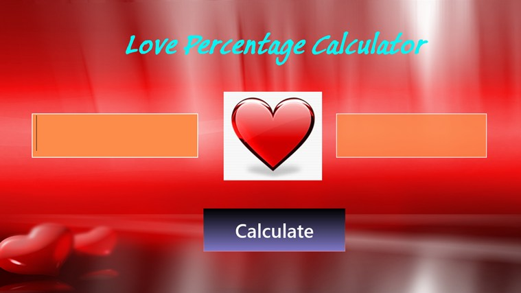 love match percentage game casual dating with sweet people