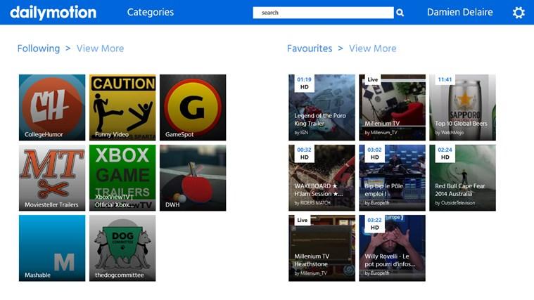 Dailymotion capture d'écran 8