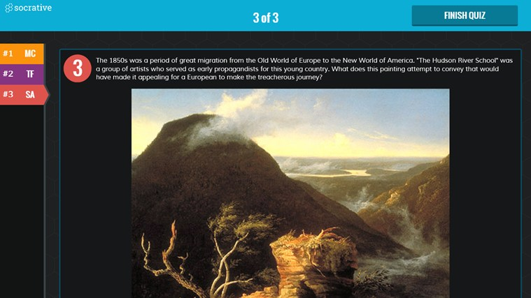 Socrative screen shot 6