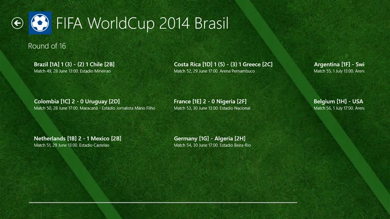 FIFA World Cup 2014 Brasil screen shot 2