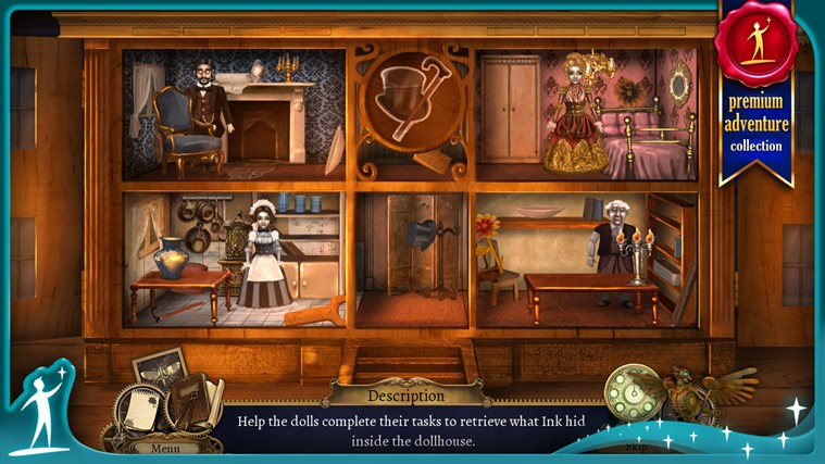 Clockwork Tales: Of Glass and Ink (Full) screen shot 4