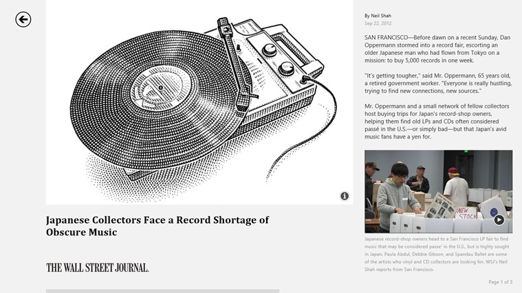 The Wall Street Journal. screen shot 4