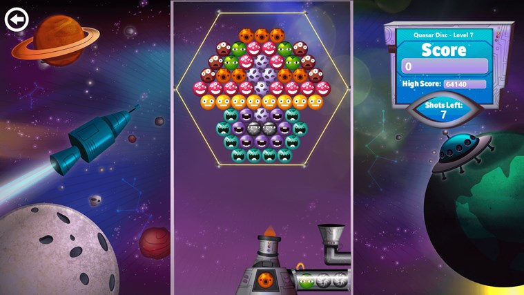 Bubble Star screen shot 2