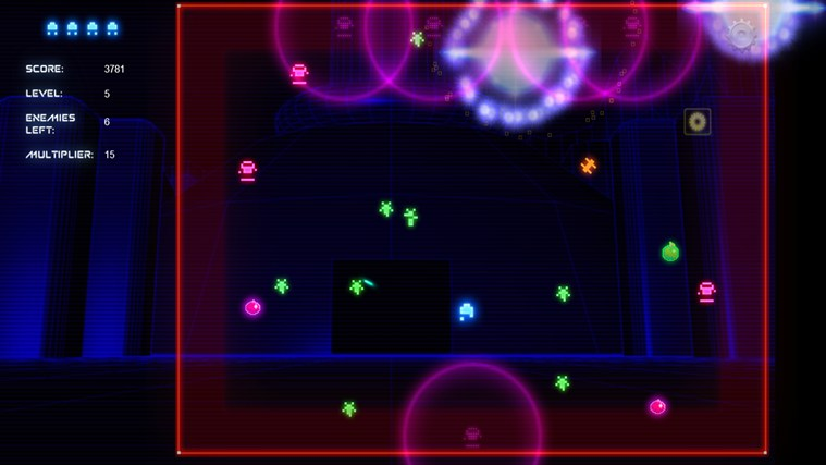 Neon Galaxy screen shot 6