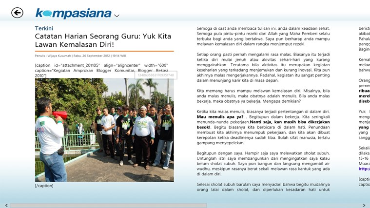 Kompasiana.com screen shot 4