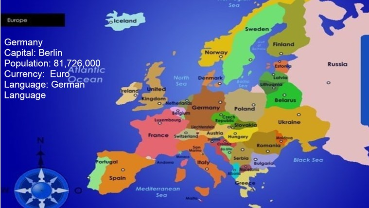 SING PLAY MAKE AND LEARN SOCIAL STUDIES - Countries in europe and their capitals