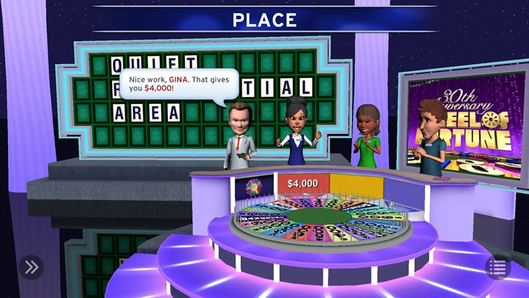 Wheel of Fortune screen shot 0