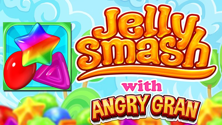 Jelly Smash with Angry Gran screen shot 0