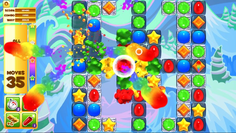 Jelly Smash with Angry Gran screen shot 2