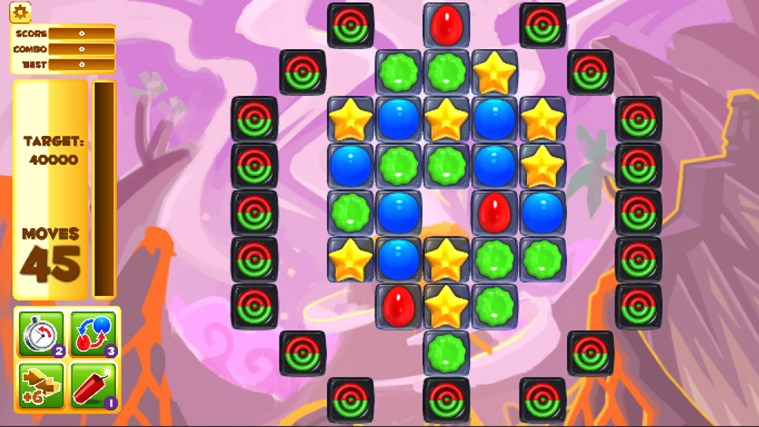 Jelly Smash with Angry Gran screen shot 4