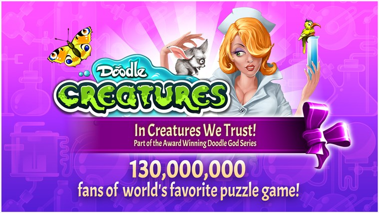 Doodle Creatures HD screen shot 0
