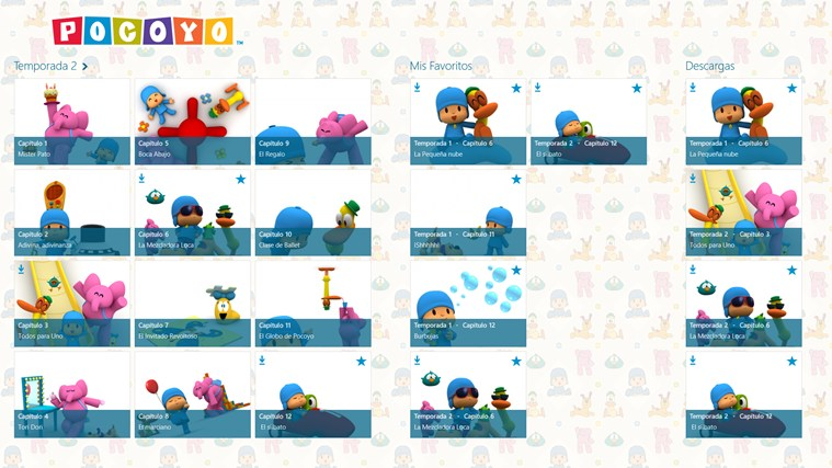 Pocoyo TV captura de pantalla 4