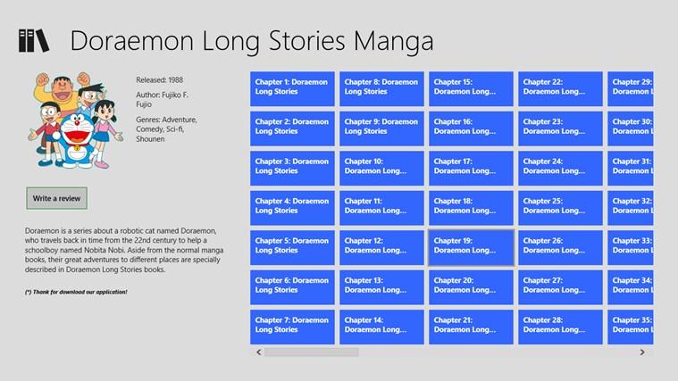 Doraemon Long Stories snímek obrazovky 0
