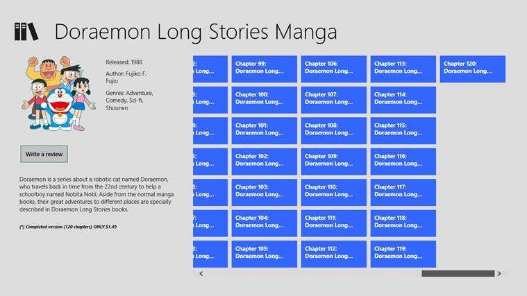 Doraemon Long Stories snímek obrazovky 4