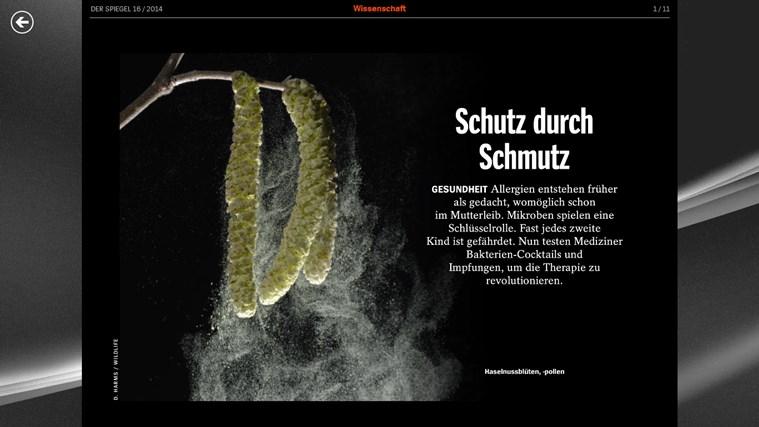 DER SPIEGEL Screenshot 2