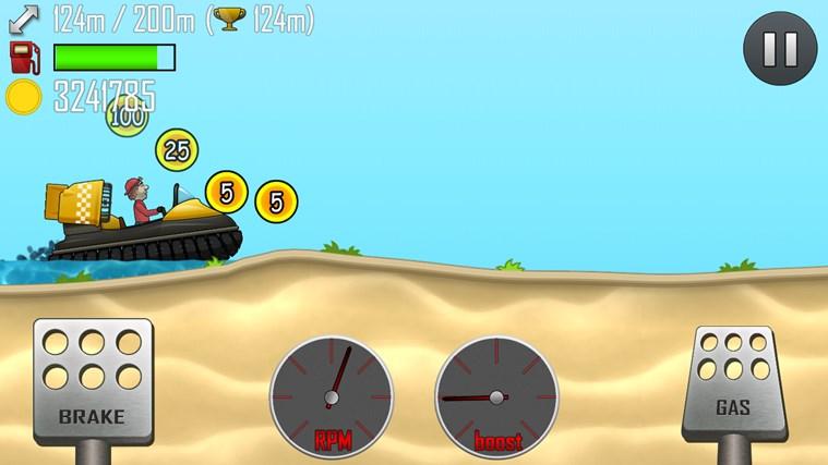 Hill Climb Racing screen shot 2