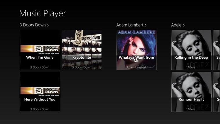 Scott Music Player full screenshot