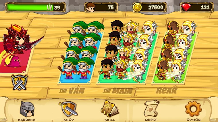 Pocket Army™ screen shot 0