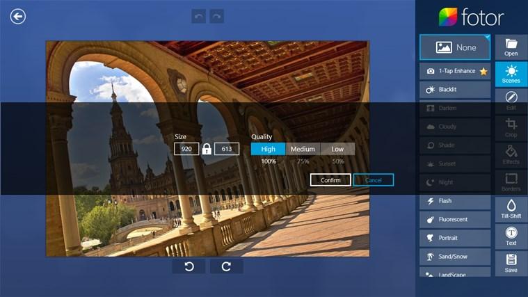 Fotor captura de pantalla 6