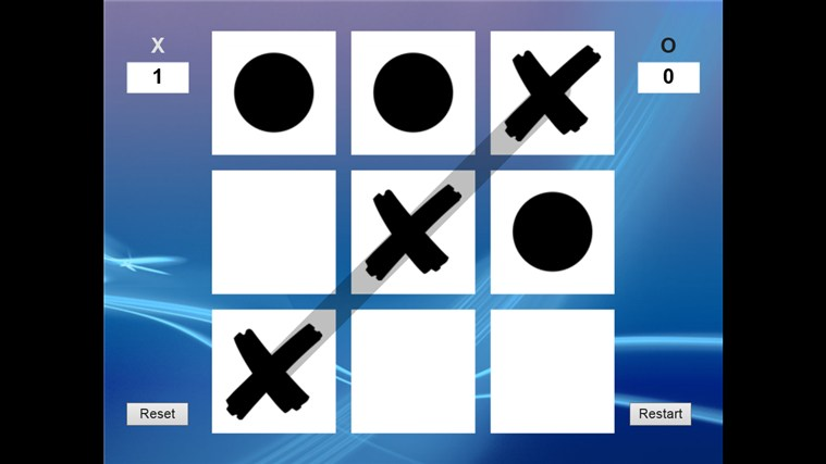 how many pieces for a tic tac toe 2 player