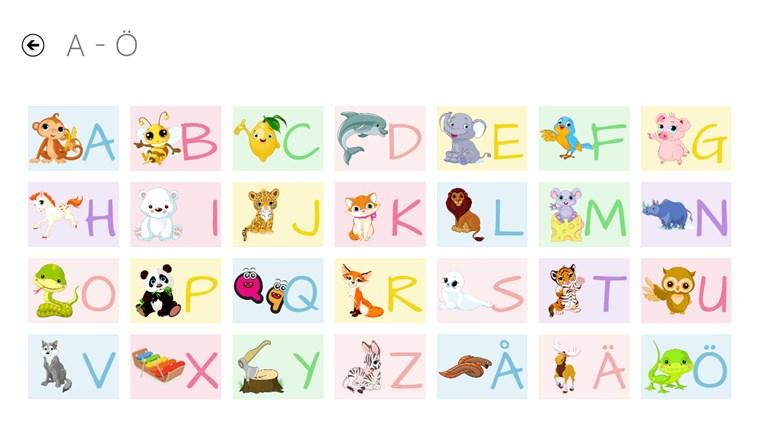 ABC Book-skärmbild 0