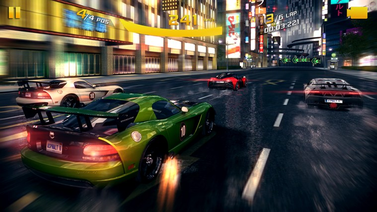 Asphalt 8: Airborne screen shot 2