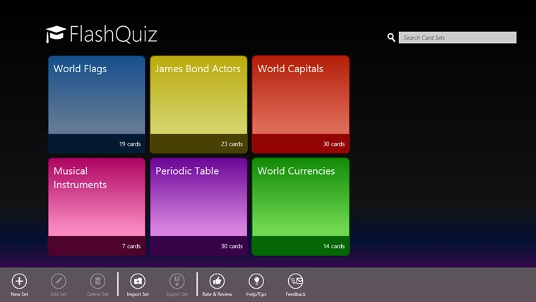 FlashQuiz screen shot 0