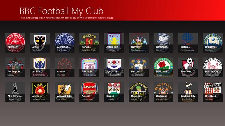 BBC Football My Club cattura di schermata 0