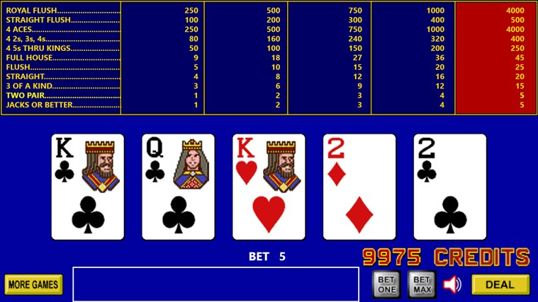 King Poker screen shot 4