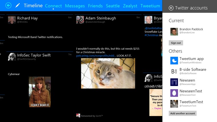 Tweetium screen shot 8