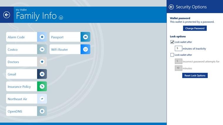 eWallet screen shot 8