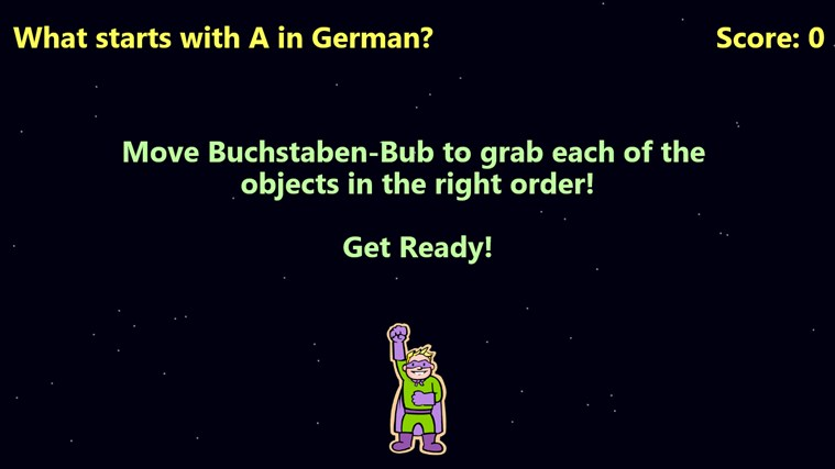 Buchstaben-Bub screen shot 2