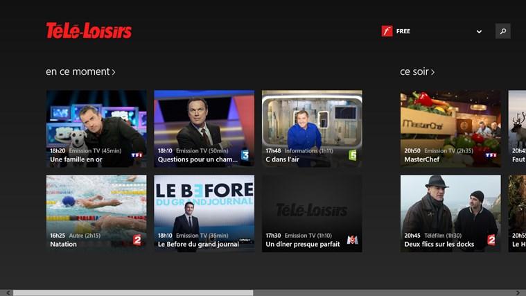 Télé-Loisirs Programme TV capture d'écran 0