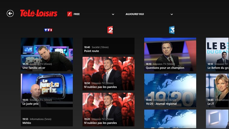 Télé-Loisirs Programme TV capture d'écran 2