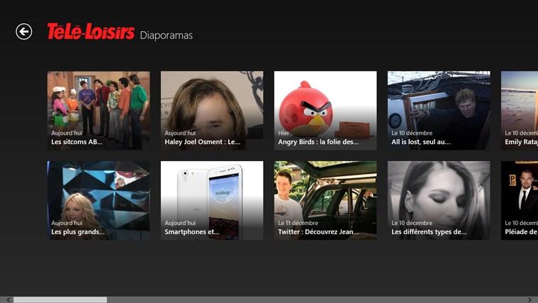 Télé-Loisirs Programme TV capture d'écran 4
