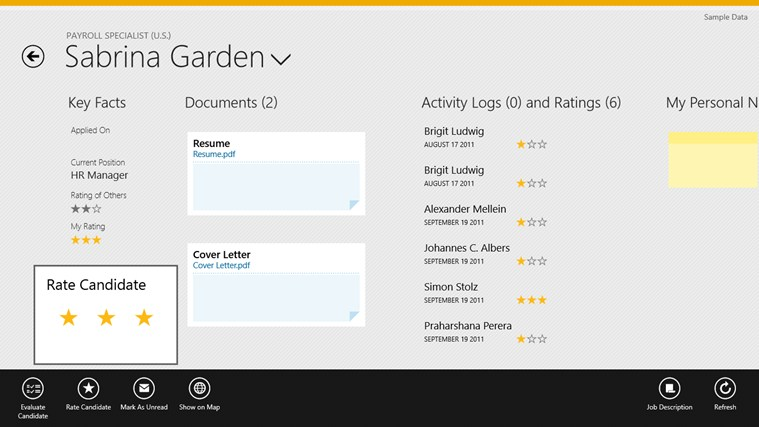 SAP Interview Assistant screen shot 4
