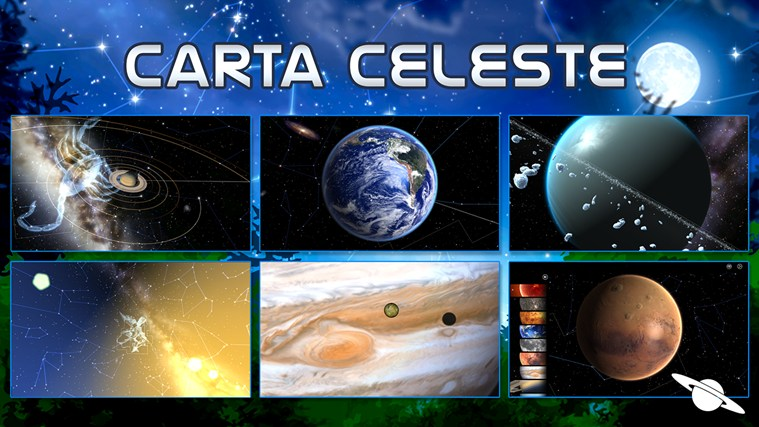 Carta Celeste captura de tela 0