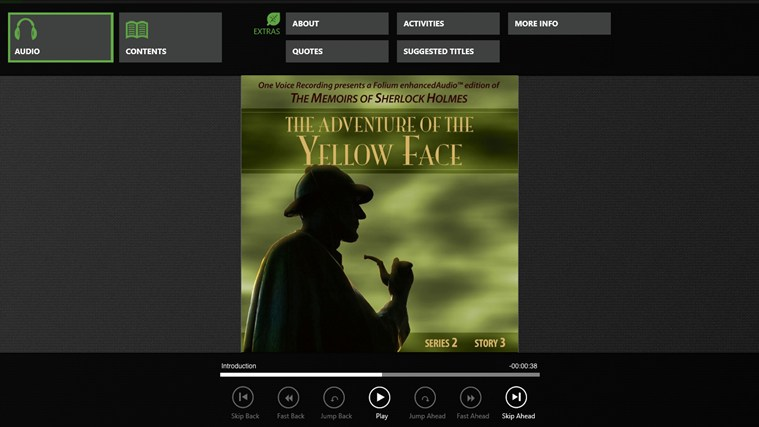 The Adventure of the Yellow Face (Arthur Conan Doyle) Screenshot 0