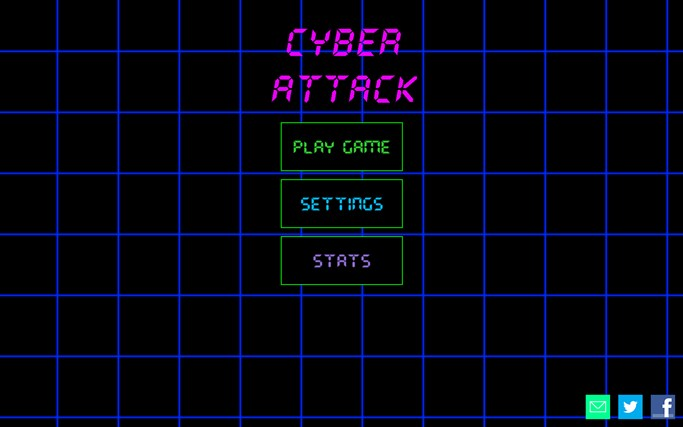 Cyber Attack Windows 8 Game