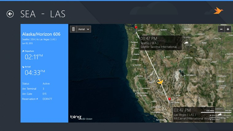 Las Vegas Airport + Flight Tracker screen shot 4