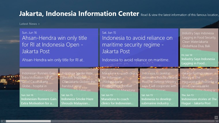 Jakarta, Indonesia Information Center screen shot 0