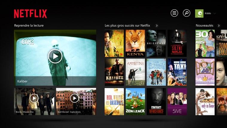 Netflix capture d'écran 0