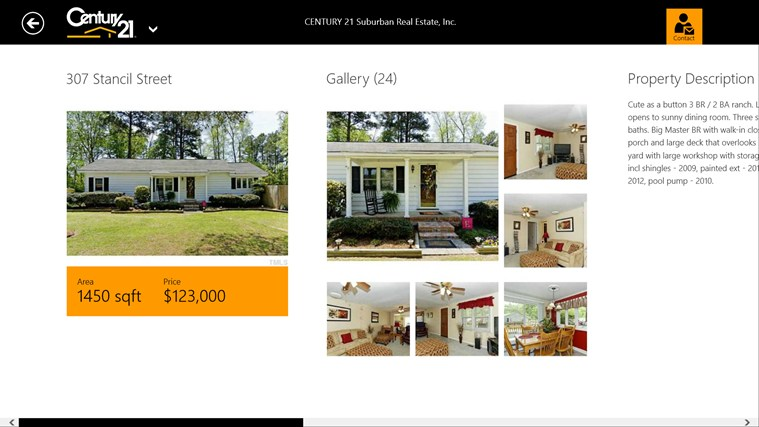 CENTURY 21 Suburban Real Estate, Inc. - Smithfield screen shot 2
