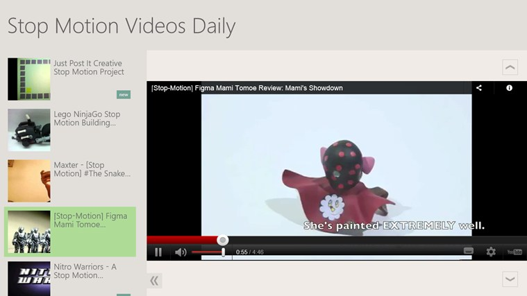 Stop Motion Videos Daily screen shot 0
