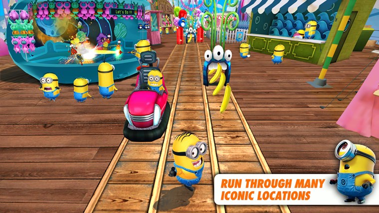 Despicable Me: Minion Rush-skärmbild 0